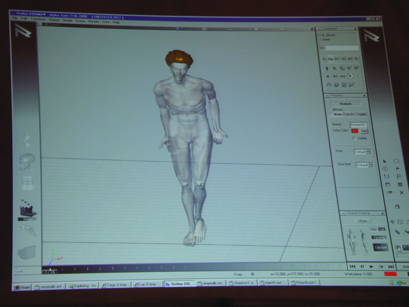 Pose Animation Software Reflex Systems Software Poses